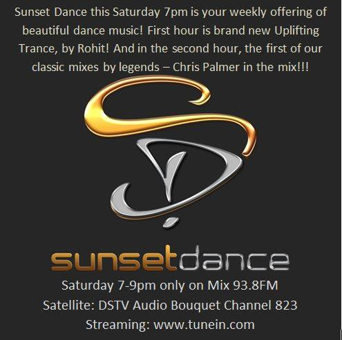 Sunset Dance on Mix 98.3 FM, 7-9pm, 031216