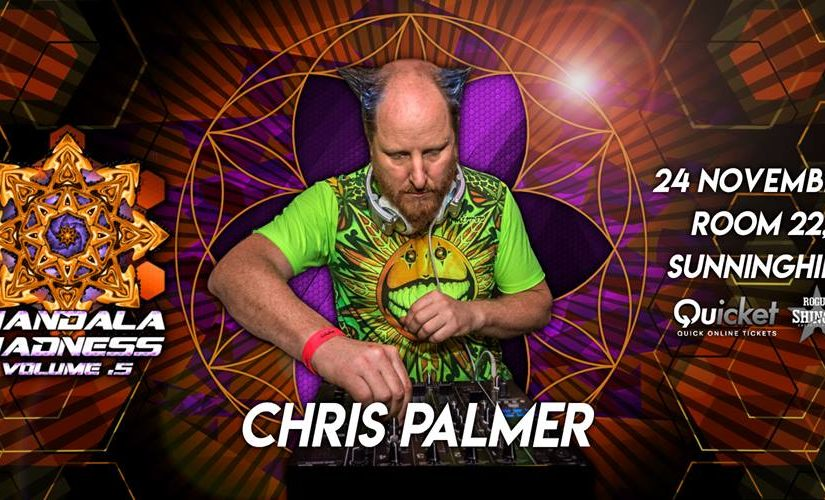 Chris Palmer Mandala Madness 5 Techno set