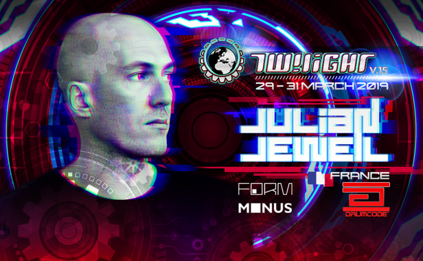 Julian Jeweil, Twilight Headline Act, New album on Drumcode