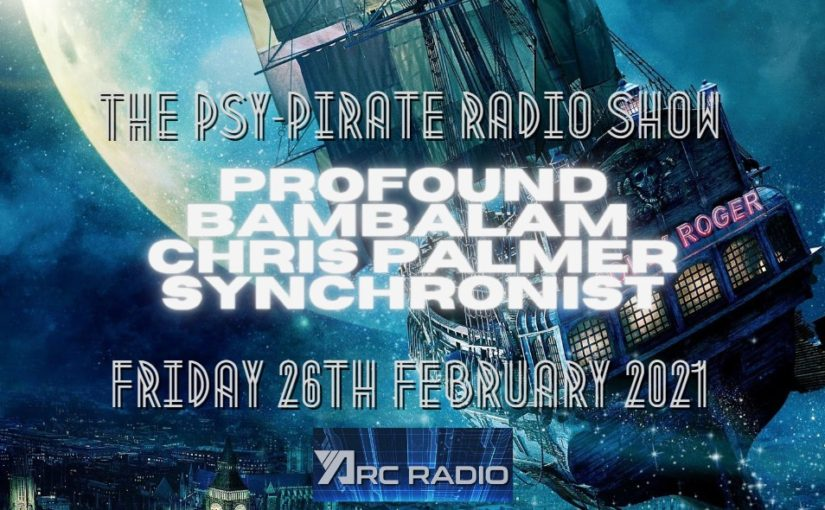 Chris Palmer Psy Pirate Radio #3 set