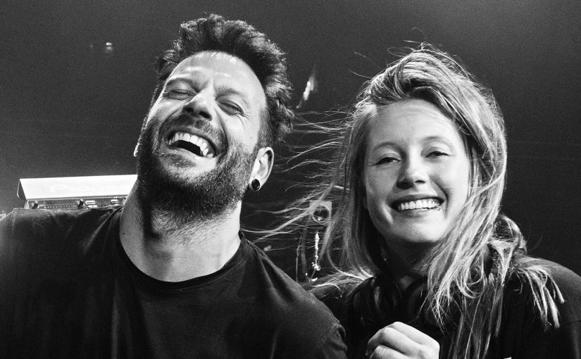 Charlotte de Witte back-to-back with Enrico Sangiuliano