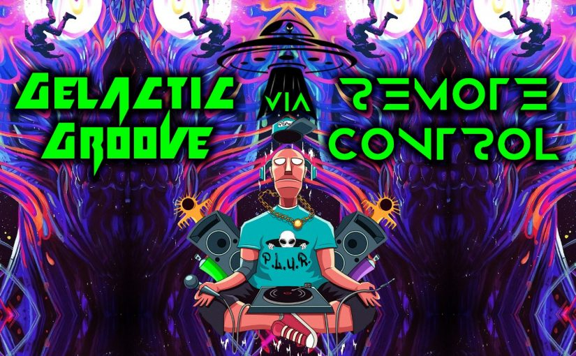 Galactic Groove VIA Remote Control